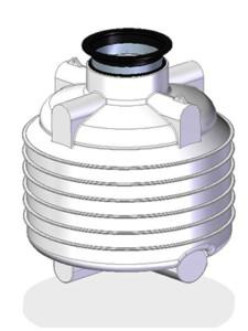 Erdtank Trinkwassertank